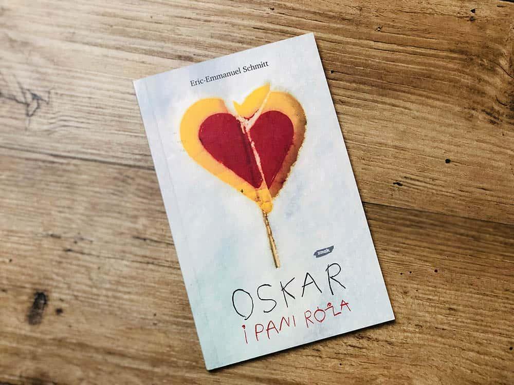 "Cytat pochodzi z książki ""Oskar i pani Róża"" Erica Emmanuela Schmitta"